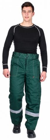 products/Брюки зимние мужские Эксперт-Люкс (тк.Смесовая,210), зеленый