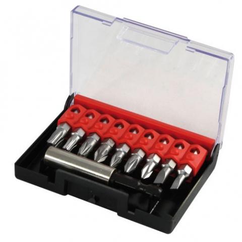products/Набор из 9 вставок для шуруповерта + магнитный держатель Narex, 857801