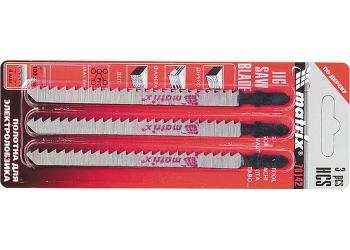 products/Полотна для электролобзика по дереву, 3 шт., 75 х 2,5мм, HCS, EU- хвостовик MATRIX