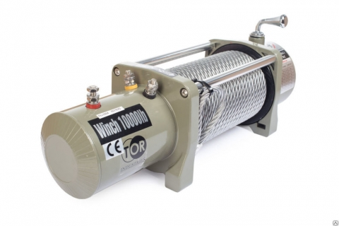 products/Лебедка (9072 кг/28 м) автомобильная TOR ЛА 24 V SEK20000 1004017