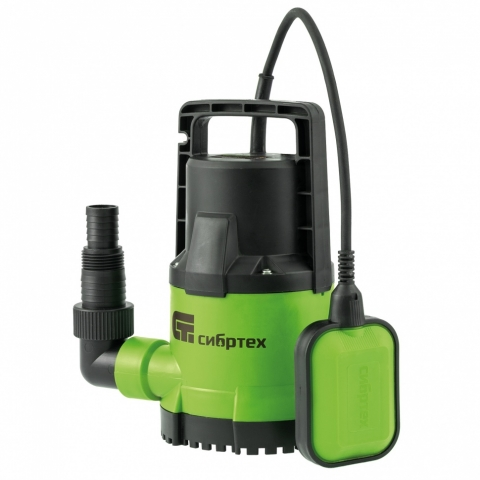 products/Дренажный насос для чистой воды СДН500-5, 500 Вт, напор 8 м, 8000 л/ч, Сибртех, 97262