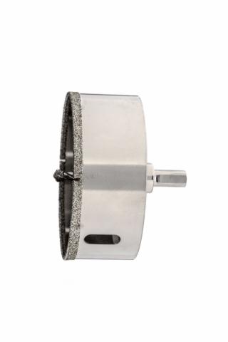 products/Сверло алмазное по керамограниту, 120 х 67 мм, трехгранный хвостовик Matrix, 726963