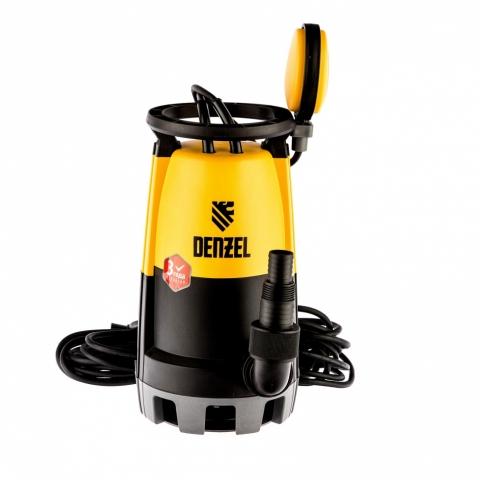 products/Дренажный насос для чистой и грязной воды DP900S, 900 Вт, напор 9 м, 18000 л/ч Denzel, 97269