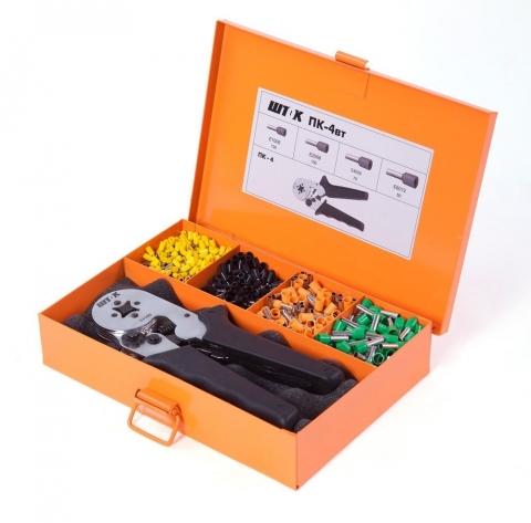 products/Ручные пресс-клещи SHTOK ПК-4вт 03109 (набор)