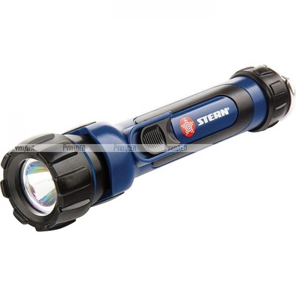 Фонарь светодиодный, противоударный, влагозащищённый, 1 LED, 2хАА// Stern, 90520