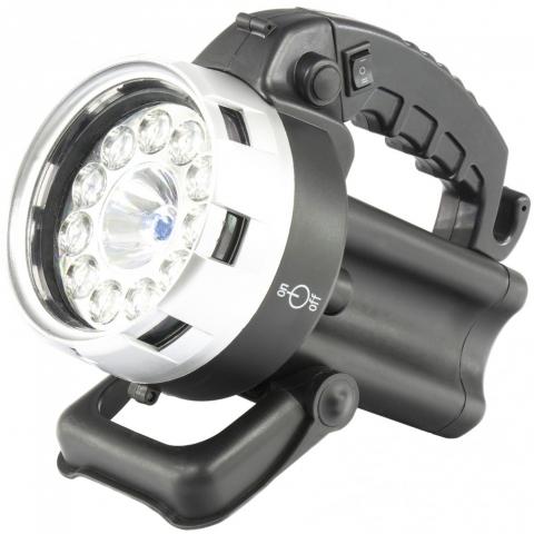products/Фонарь поисковый, аккумуляторный, галоген 25 Вт, 11 LED// Stern, 90532