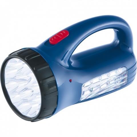 products/Фонарь поисковый с подзарядкой от розетки 220 В, 15 и 10 LED, батарея 800 мАч// Stern, 90537