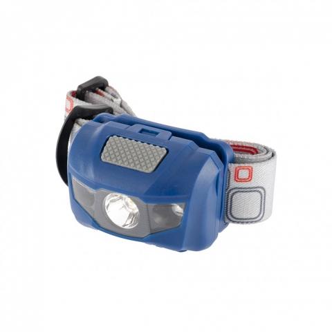 products/Фонарь налобный Space, ABS пластик, 4 режима, 1 Вт LEDх120 лм, 2 red LED, 8 часов, 3хААА// Stern, 90568