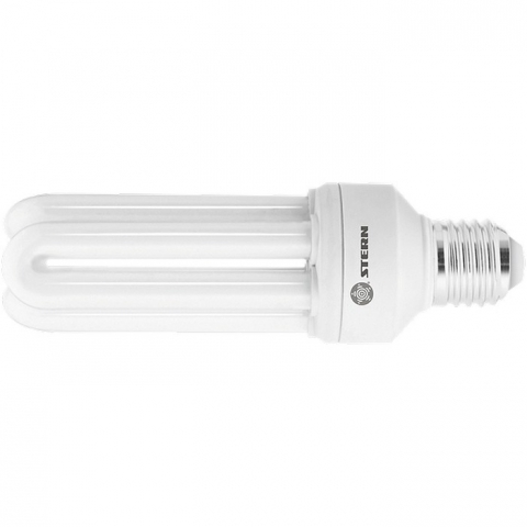products/Лампа компактная люминесцентная, U-образная, 20W, 2700K, E27, 8000ч.// Stern, 90942