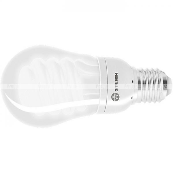 Лампа компактная люминесцентная, колба, 11W, 2700K, E27, 8000ч.// Stern, 90965
