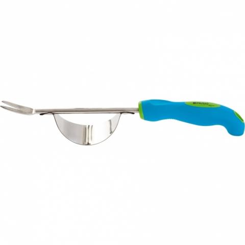 products/Корнеудалитель, 345 мм, нерж. сталь, двухкомпонентная рукоятка, PREMIUM PLUS// Palisad,62056
