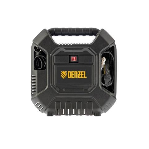 products/Компрессор воздушный DL1100 1,1 кВт, 180 л/мин, с набором аксессуаров Denzel 58005