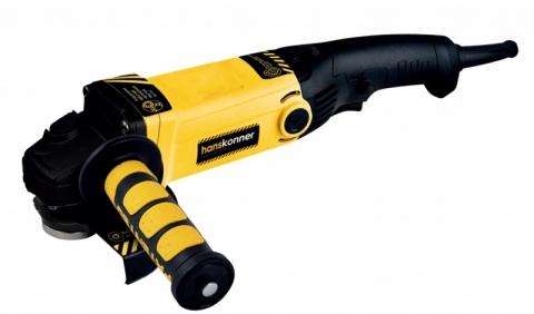 products/HAG95151P Угловая шлифмашина Hanskonner 150 мм, 1400 Вт, удлин. рукоять, ПОВЫШ ПЫЛЕЗАЩ