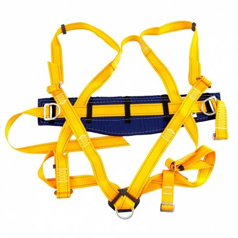 products/Удерживающе-страховочная привязь,модель УСП II,наплечные и набедренные лямки,высокий кушак// Сибртех 89507