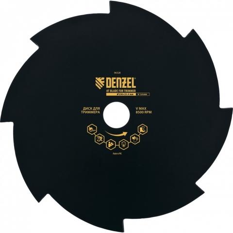 products/Диск для триммера, 230 х 25,4 толщина 1,6 мм, 8 лезвий// Denzel, 96328