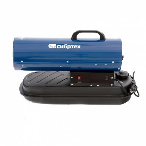 products/Дизельная тепловая пушка СТД-10, 10 кВт, 300 м3/ч, прямой нагрев, Сибртех, 96466