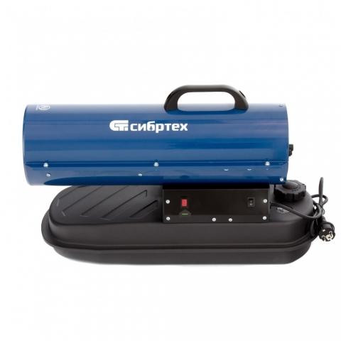 products/Дизельная тепловая пушка СТД-20, 20 кВт, 500 м3/ч, прямой нагрев, Сибртех, 96467