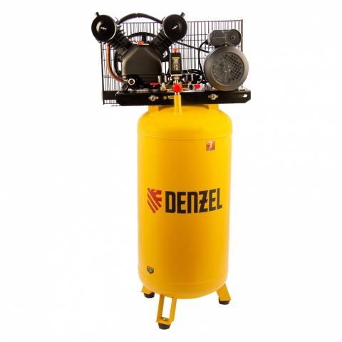 products/Компрессор воздушный BCV2200/100V, ременный привод , 2.3 кВт, 100 литров, 440 л/мин Denzel, арт. 58112