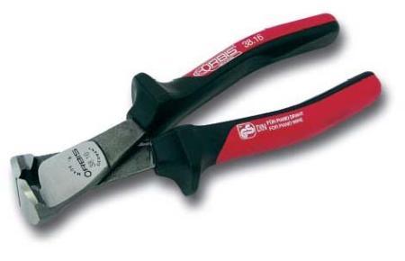 products/Кусачки фронтальные промышленные для мягкой и твердой проволоки, специально закаленная инструментальная сталь, с плоскими губками Твердость HRC 64