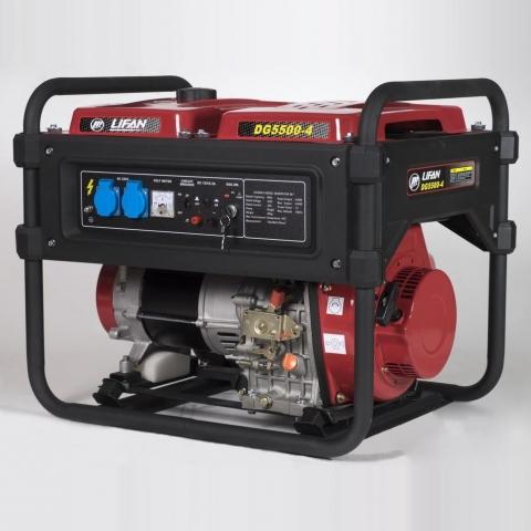 products/Генератор Lifan-DG5500-4 дизельный (220 В, 5/5.5 кВт)