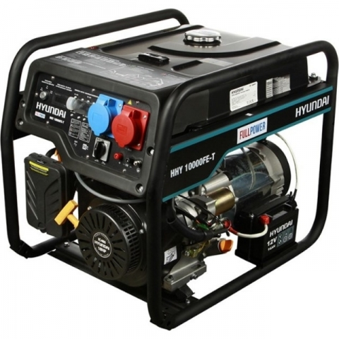 products/Бензиновый генератор HYUNDAI HHY 10000FE-T