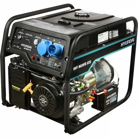 products/Бензиновый генератор HYUNDAI HHY 9020FE ATS