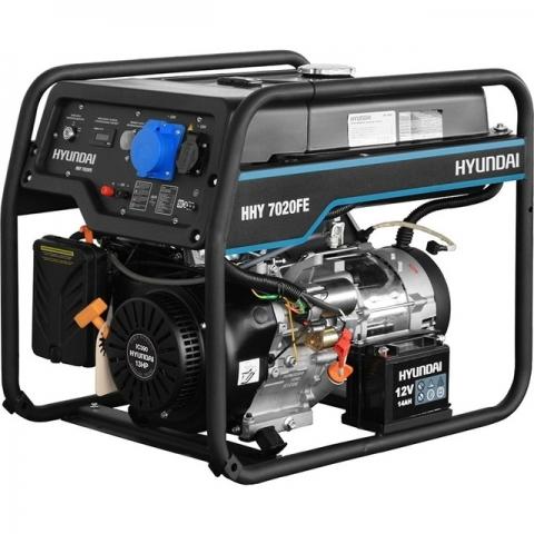 products/Бензиновый генератор HYUNDAI HHY 7020FE