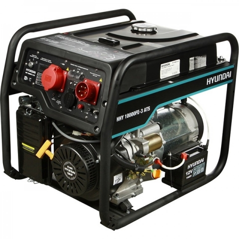 products/Бензиновый генератор HYUNDAI HHY 10000FE-3 ATS