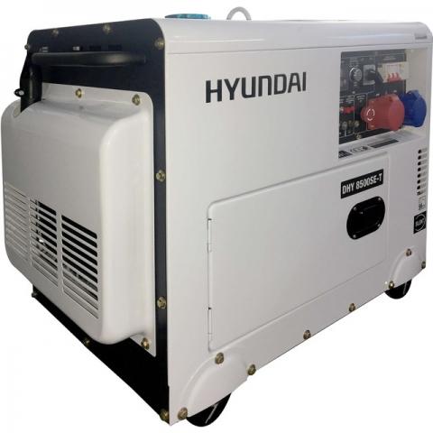 products/Дизельный генератор HYUNDAI DHY 8500SE-T