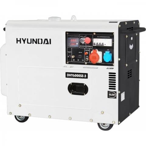 products/Дизельный генератор Hyundai DHY 6000SE-3