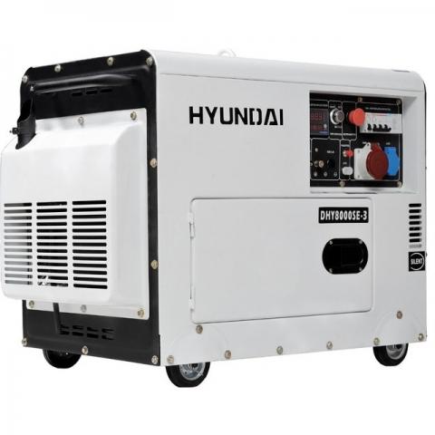 products/Дизельный генератор Hyundai DHY8000SE-3
