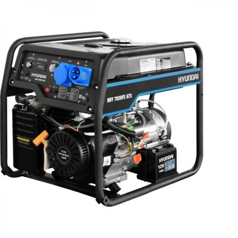 products/Бензиновый генератор HYUNDAI HHY 7020FE ATS