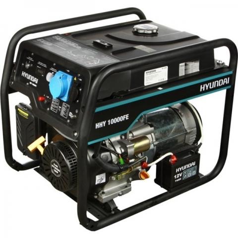 products/Бензиновый генератор HYUNDAI HHY 10000FE