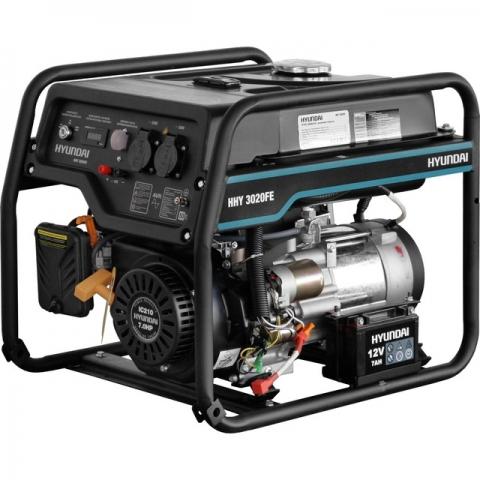products/Бензиновый генератор HYUNDAI HHY 3020FE