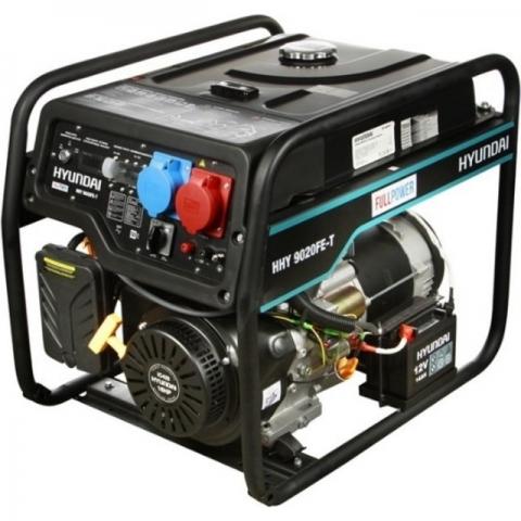 products/Бензиновый генератор HYUNDAI HHY 9020FE-T