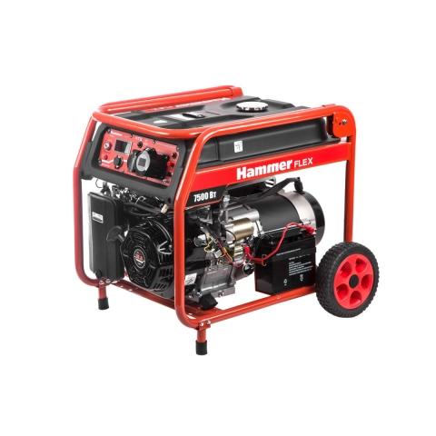 products/Бензиновый генератор GN8000ATS HAMMER (арт. 572012)