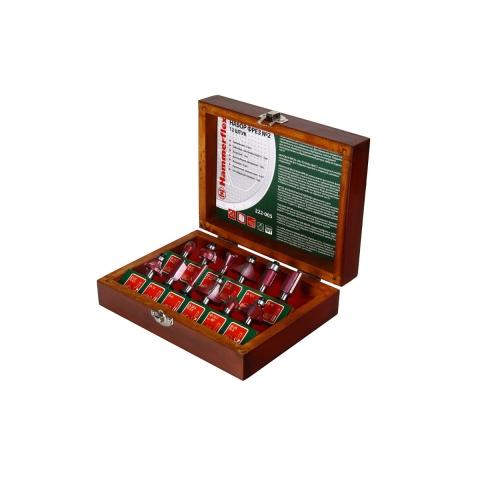products/Фреза 222-005 HAMMER набор, 12 шт. (арт. 58595)