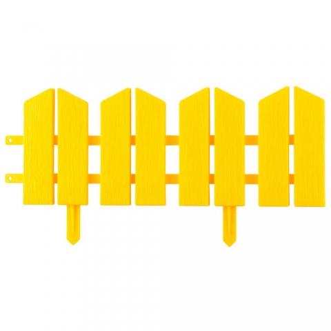 "products/Бордюр декоративный, желтый GRINDA ""Летний сад"" (арт. 422225-Y)"