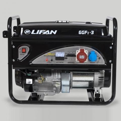 products/Генератор Lifan 6 GF2-3 (220/380 В, 6/6.5 кВт)