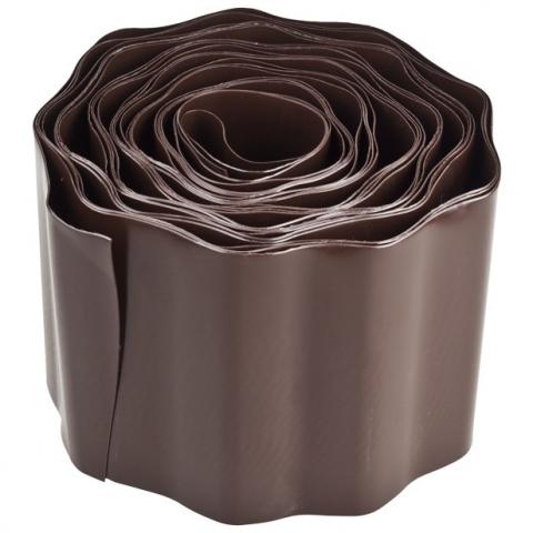 products/Лента бордюрная, коричневая, 20 см GRINDA (арт. 422247-20)