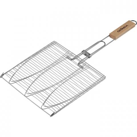 products/Решетка-гриль Barbecue для рыбы трехсекционная GRINDA (арт. 424721)