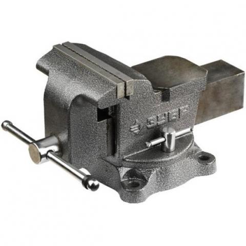 products/Тиски Зубр Мастер слесарные 200 мм, поворотные 3258-200