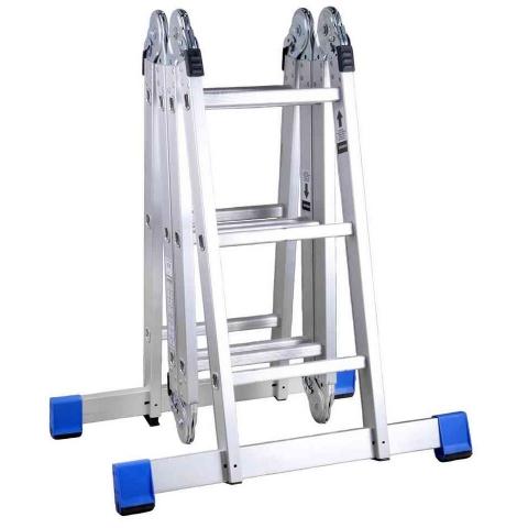 """products/Лестница-трансформер 4х3 ступеней, алюминевая с платформой, ЗУБР """"Эксперт"""" 38861"""