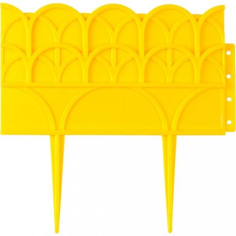 products/Бордюр декоративный для цветников, желтый GRINDA (арт. 422223-Y)