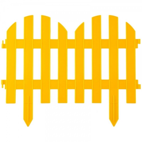 "products/Забор декоративный, желтый GRINDA ""Палисадник"" (арт. 422205-Y)"