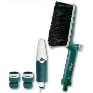 products/Щетка и распылитель с контейнером для моющих средств в ручке щетки RACO (арт. 4260-55/407C)