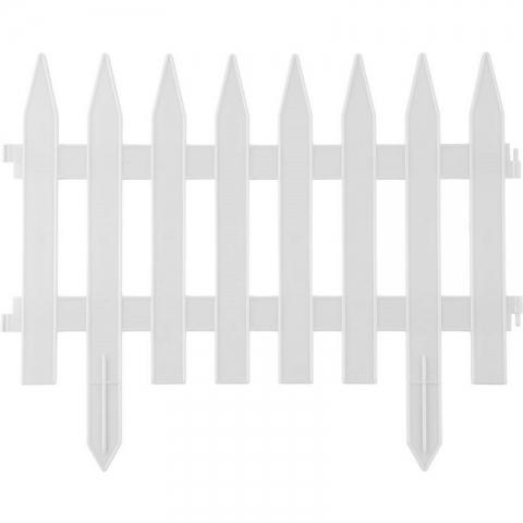 "products/Забор декоративный, белый GRINDA ""Классика"" (арт. 422201-W)"