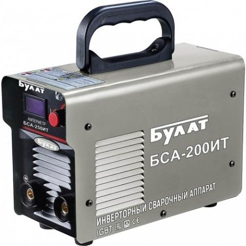 products/Сварочный инверторный аппарат Булат БСА 200ИТ (10-200А, 4кВт, 1,6-4мм, ПВ60%)