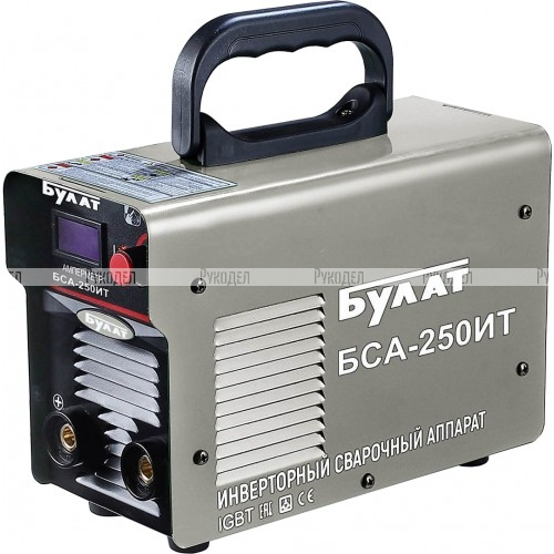 Сварочный инверторный аппарат Булат БСА 250ИТ (10-250А, 4,5кВт, 1,6-4мм, ПВ60%)