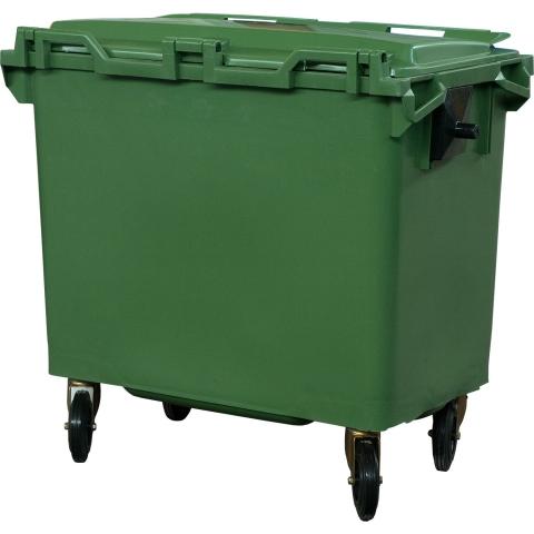 products/Мусорный контейнер на колёсах (660 л) TARARU MGB-660